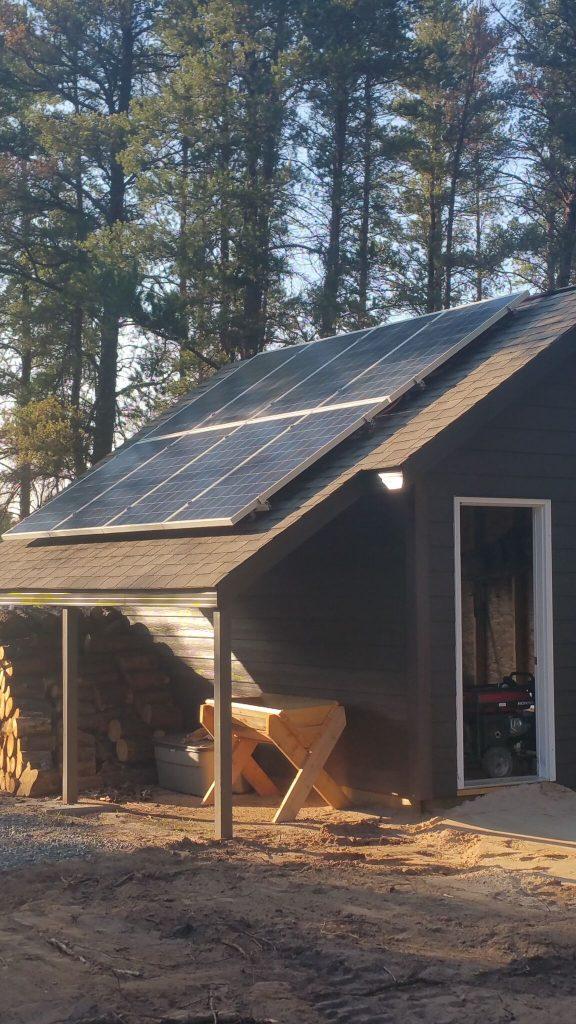 Og 2 6 Off Grid Solar For Cabin 2 6 Kw Solar 4kw Inverter